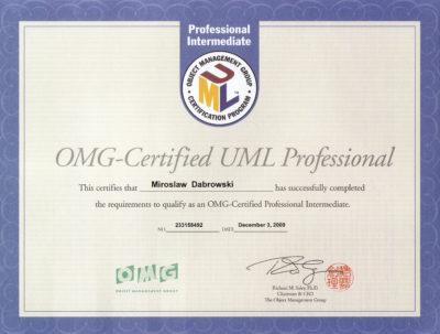 OCUPI - OMG Certified UML Professional - Intermediate