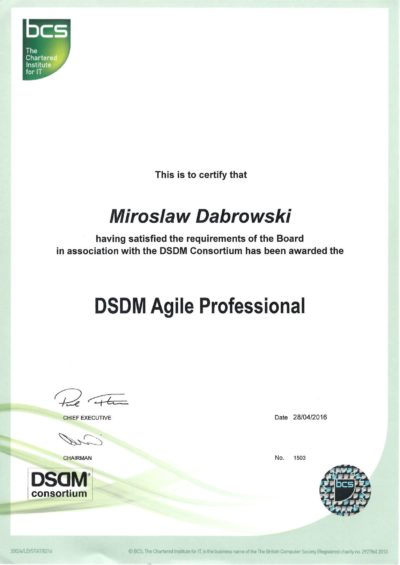 DSDM Agile Professional