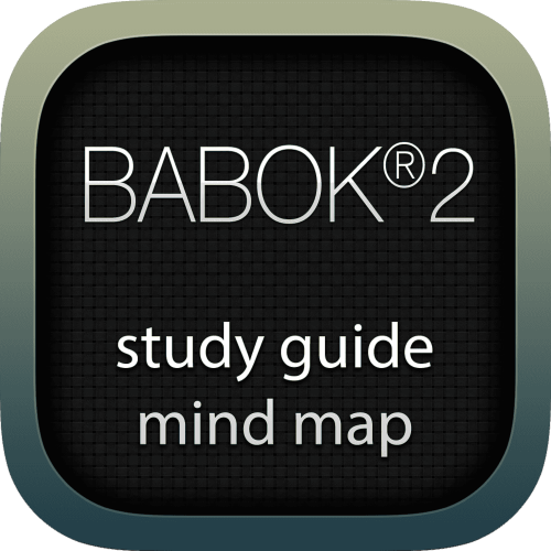 Business Analysis Body of Knowledge 2 (BABOK2) interactive study guide mind map logo