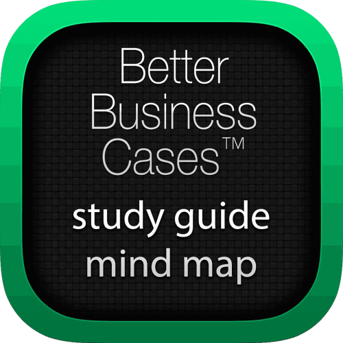 Better Business Cases (BBC) interactive study guide mind map logo