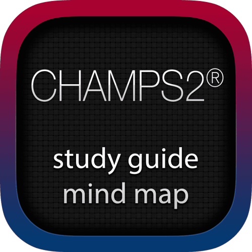 Change Management for the Public Sector 2 (CHAMPS2) interactive study guide mind map logo
