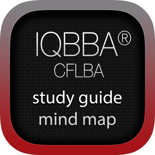 IQBBA Certified Foundation Level Business Analyst (CFLBA) interactive study guide mind map logo