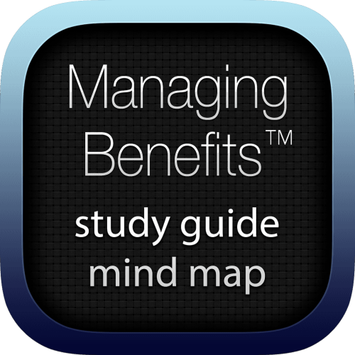 Managing Benefits interactive study guide mind map logo