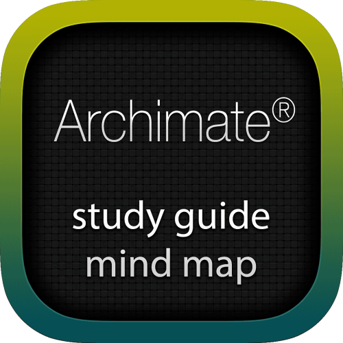 Archimate interactive study guide mind map logo