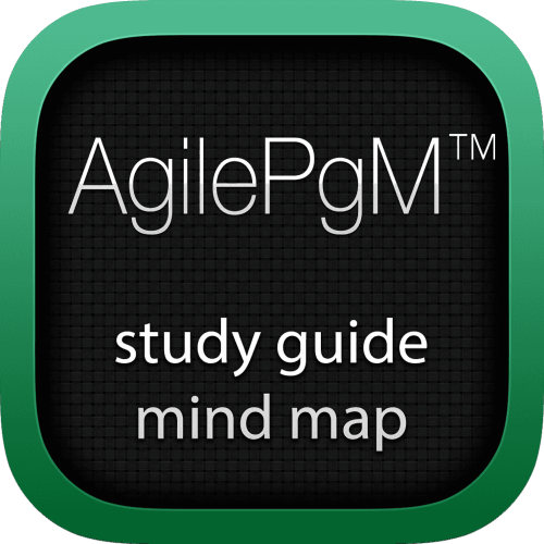 Agile Programme Management (AgilePgM) interactive study guide mind map logo