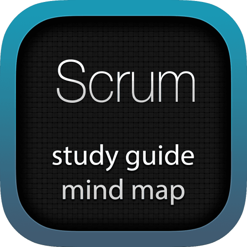Scrum interactive study guide mind map logo