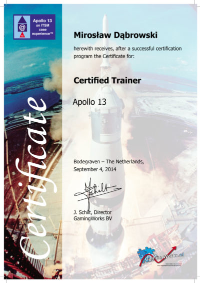 Apollo 13 ITSM Trainer