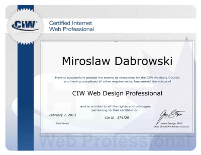 Web Design Professional