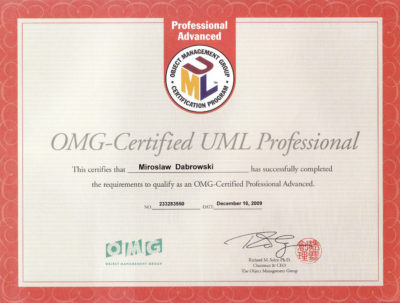 OCUPA - OMG Certified UML Professional - Advanced
