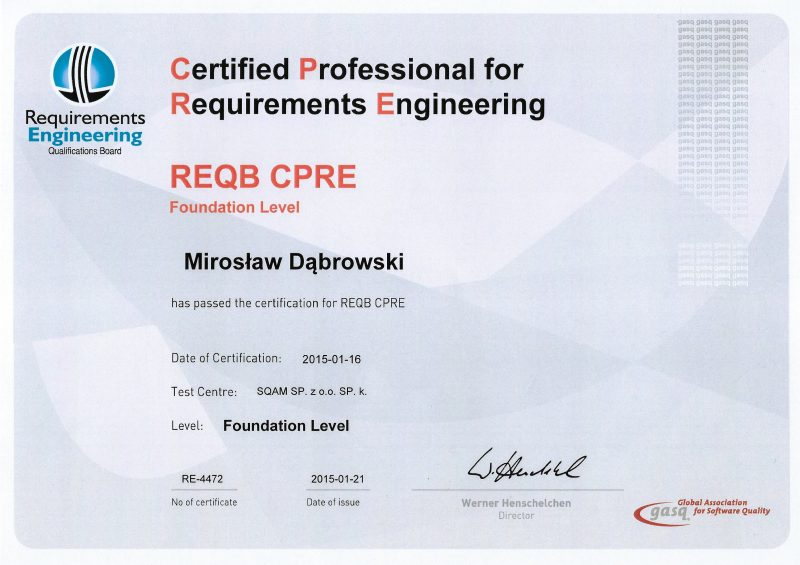 REQB - CPRE - Foundation