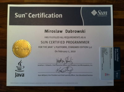Sun Certified Java Programmer (SCJP) for JavaSE 5