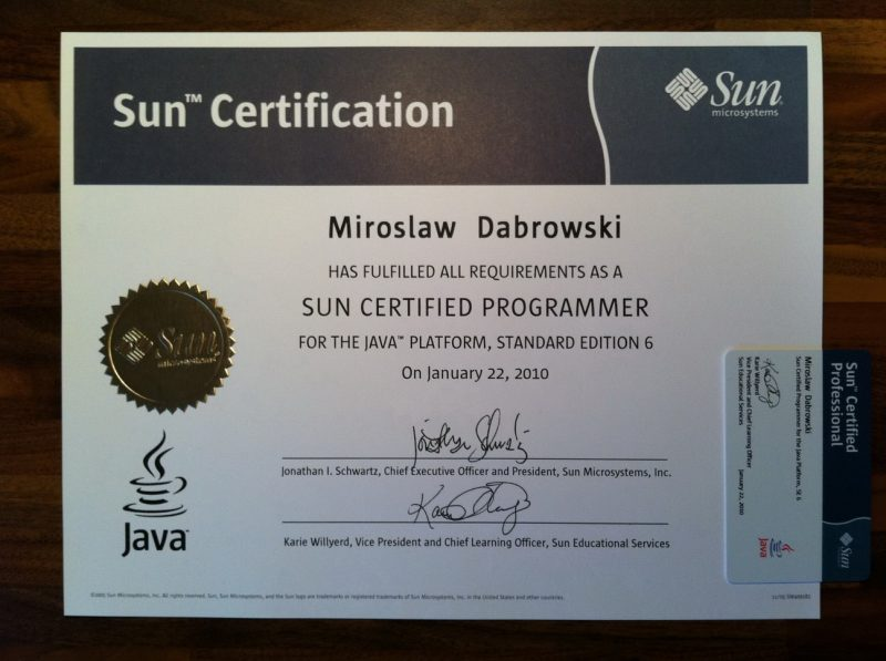 Sun Certified Java Programmer (SCJP) for JavaSE 6