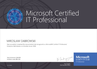 Microsoft-Certified-IT-Professional-(MCITP)-Enterprise-Administrator-WS2008