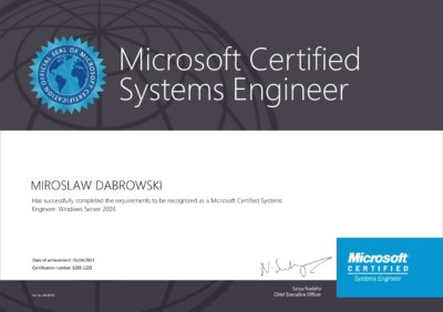 Microsoft-Certified-Systems-Engineer-(MCSE)-WS2003