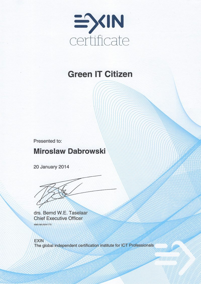 Green IT Citizen