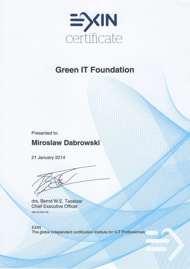 Green IT Foundation