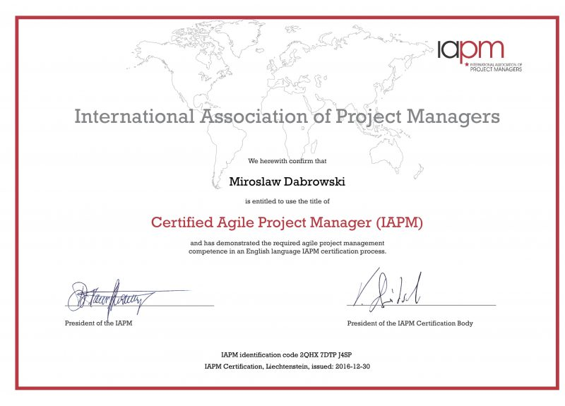 CAPM - Certified Agile Project Manager