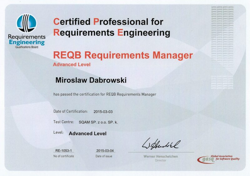 REQB - CPRE - Advanced